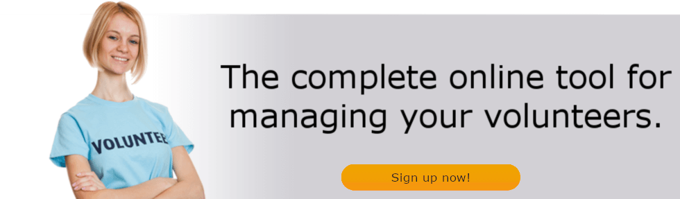The complete online tool for managing your volunteers. Sign up now!