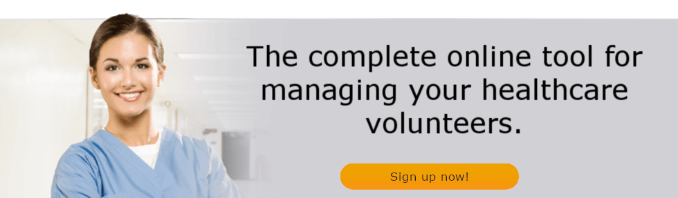 The complete online tool for managing your healthcare volunteers.