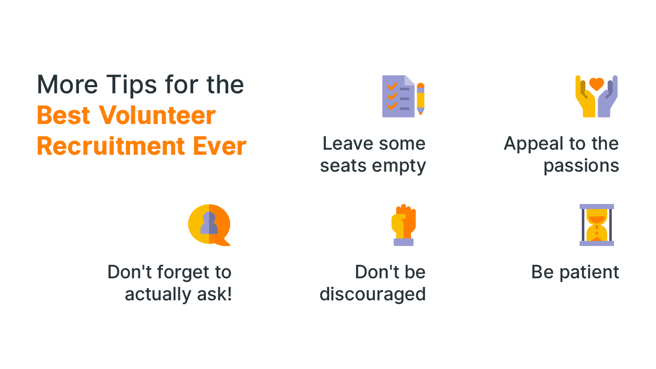 More Tips for the Best Volunteer Recruitment Ever