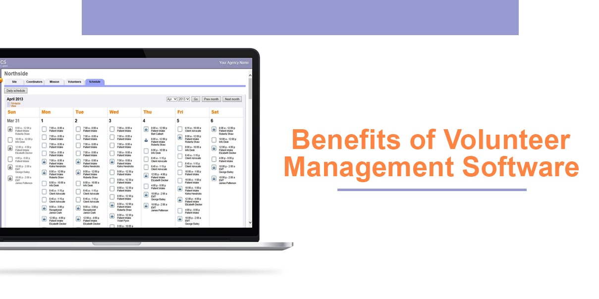 Benefits of Volunteer Management Software