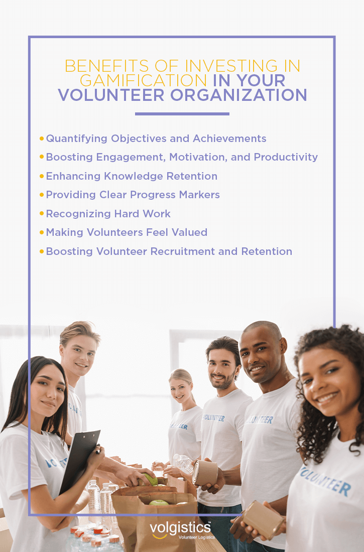 Benefits of Investing in Gamification in Your Volunteer Organization
