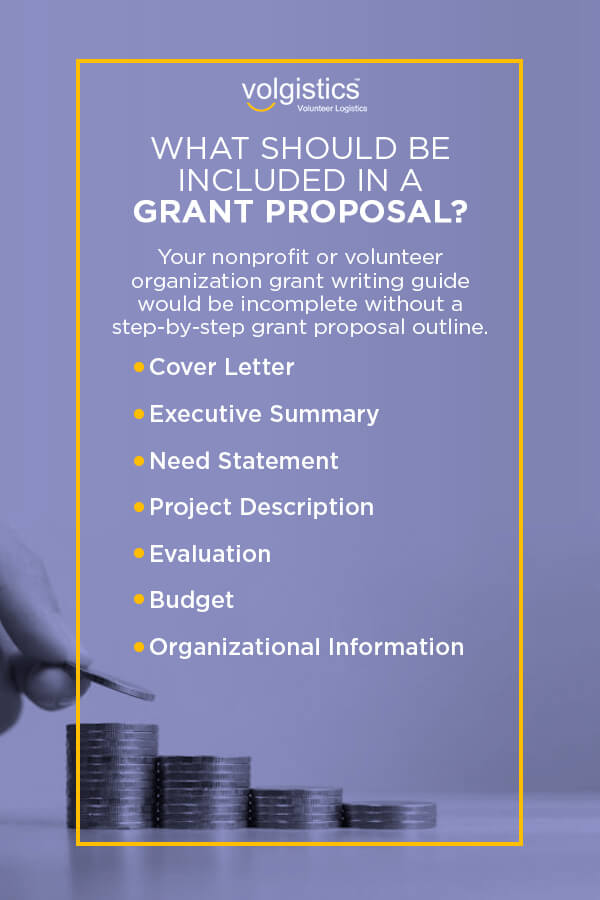 Your nonprofit or volunteer organization grant writing guide would be incomplete without a step-by-step grant proposal outline.
