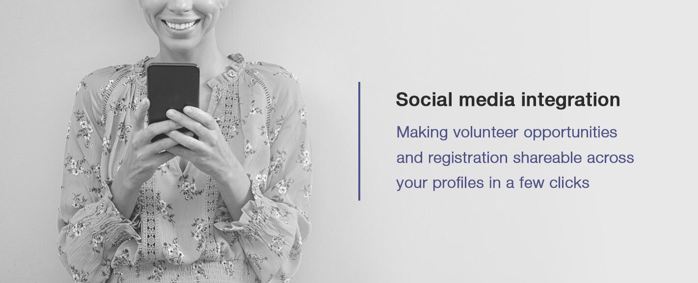 Social media itegration