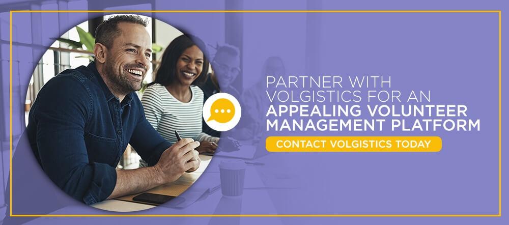 Partner With Volgistics for an Appealing Volunteer Management Platform