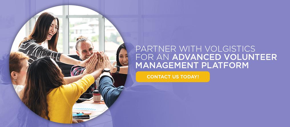 Partner With Volgistics for an Advanced Volunteer Management Platform