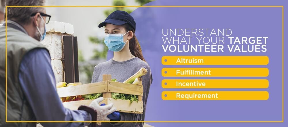 Understand What Your Target Volunteer Values