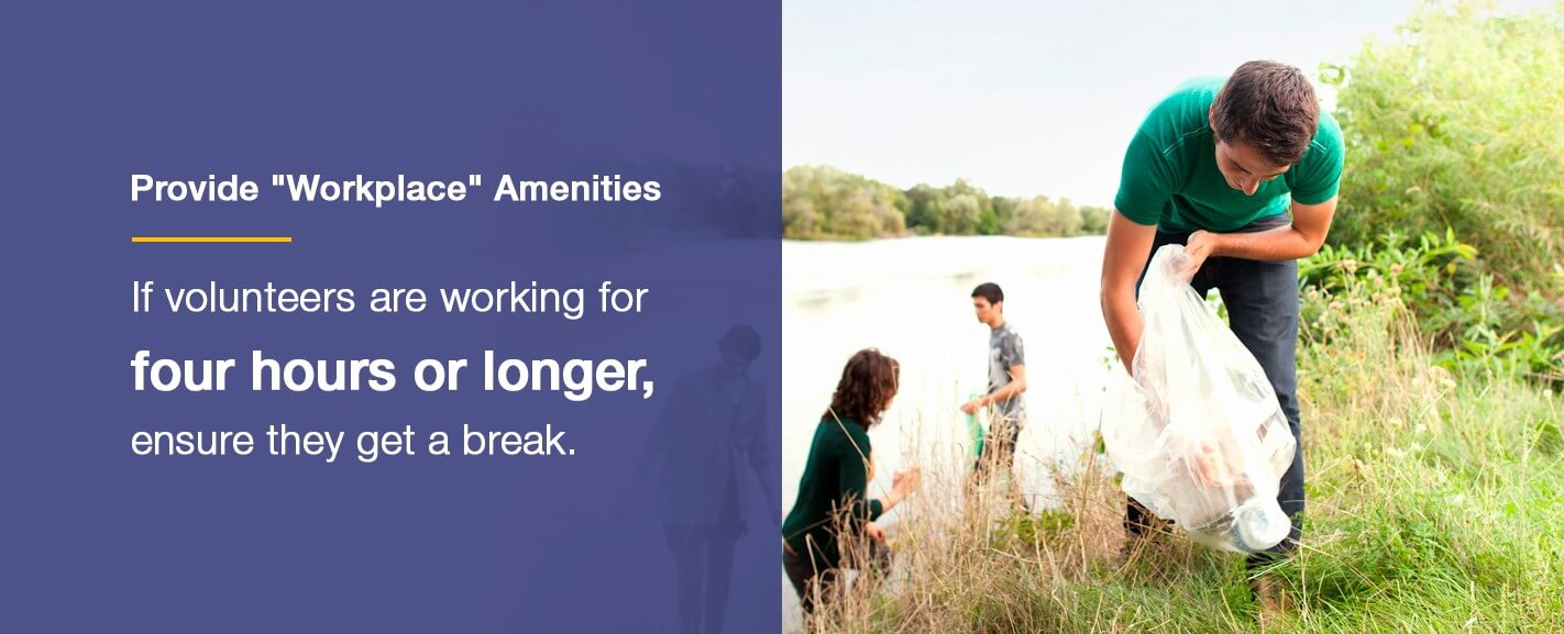 Provide Workplace Amenities