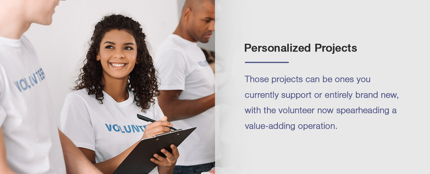 Personalized Projects