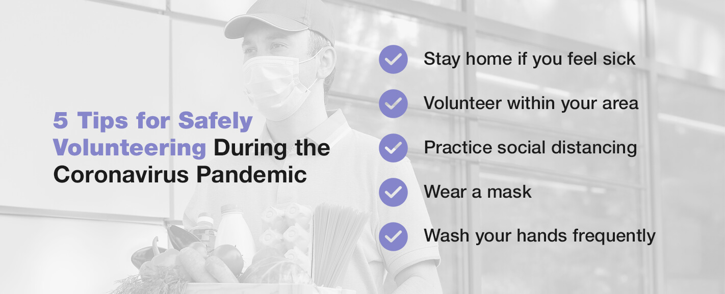 5 tips for safely volunteering during the coronavirus pandemic
