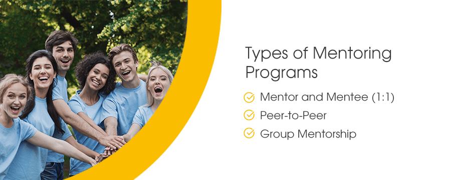 Types of Mentoring Programs