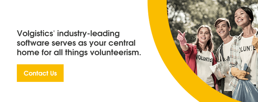 Volgistics' industry-leading software serves as your central home for all things volunteerism.