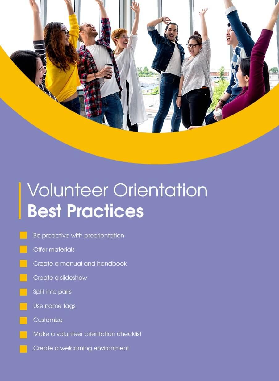 Volunteer Orientation Best Practices