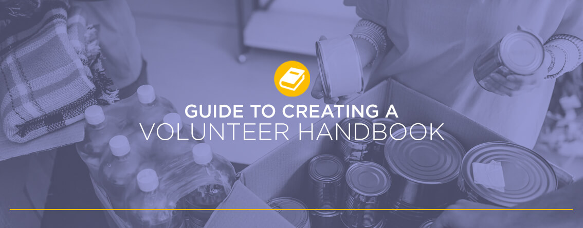 Guide to creating a volunteer handbook