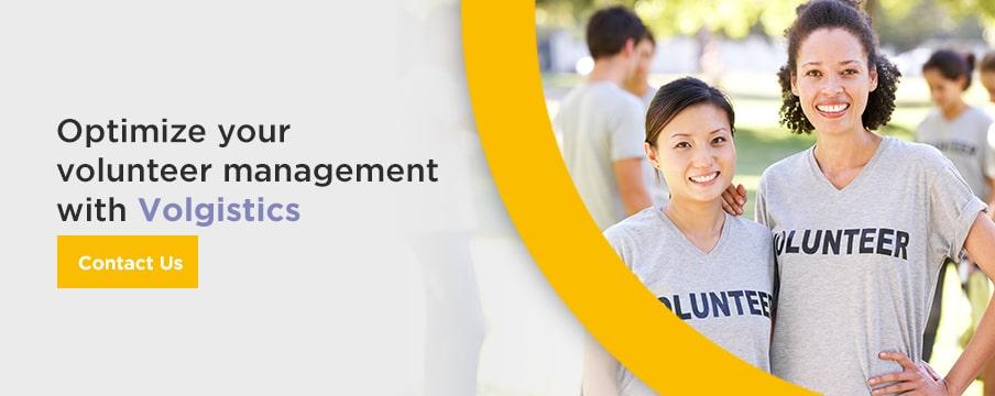 Optimize your volunteer management with Volgistics