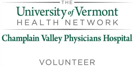 Champlain Valley Physicians Hospital Clergy Form