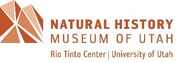 Natural History Museum of Utah NHMU Adult Volunteer Application Form