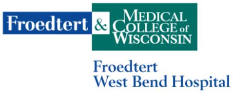 Froedtert West Bend Hospital Partner Volunteers VOLUNTEER APPLICATION FORM