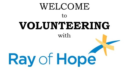 Ray of Hope Volunteer Application