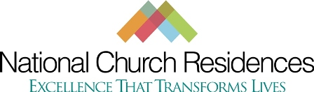 National Church Residences Volunteer Application Form