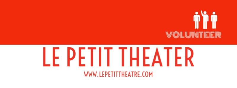 Le Petit Theatre du Vieux Carre Login