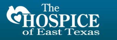 The Hospice of East Texas The Hospice of East Texas Volunteer Application Form